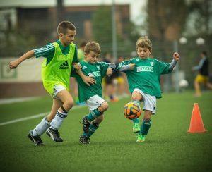 child, footballer, shot