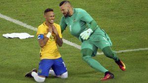 Neymar e Weverton